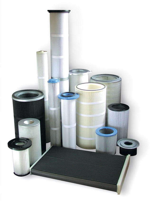 Dust filter manufacturers and distributors in the UK