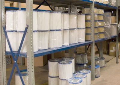 Filters held in stock for next day delivery