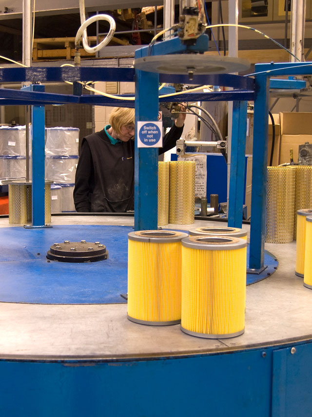 Filter manufacturing companies in the UK