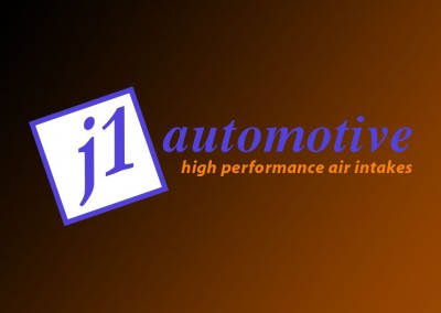 J1 automotive logo - high performance air intake filters