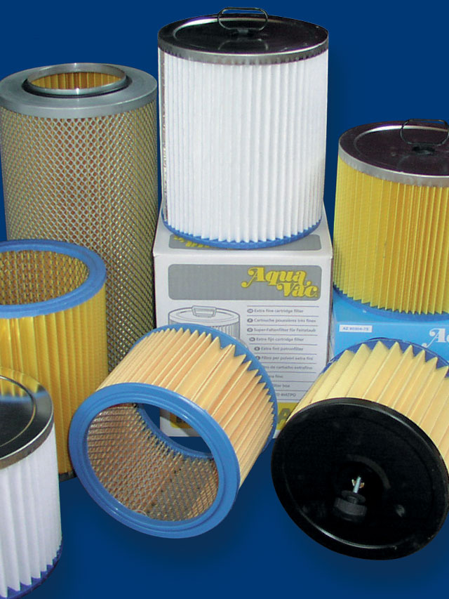 Vacuum filter manufacturers and distributors in the UK